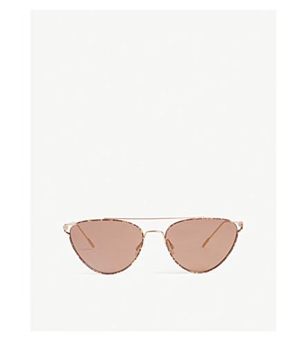 OLIVER PEOPLES Floriana cat-eye frame sunglasses (Violet