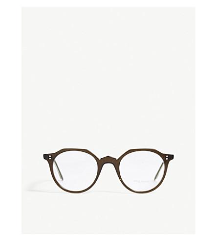OLIVER PEOPLES Round-frame optical glasses (Green