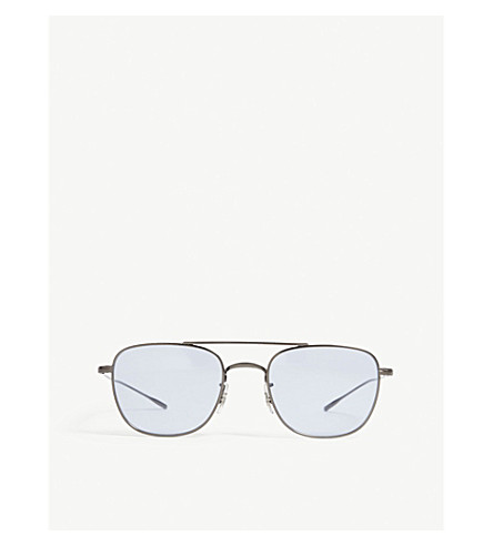 OLIVER PEOPLES Aviator sunglasses