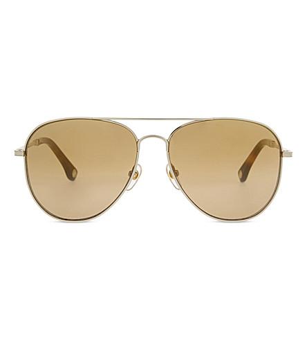 MICHAEL KORS MKS144 Piper aviator sunglasses