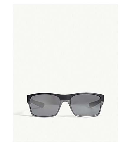 OAKLEY Twoface rectangle-frame sunglasses (Black