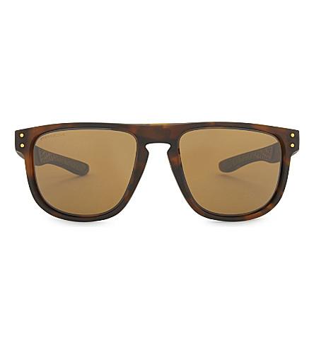 OAKLEY Holbrook R square-frame sunglasses (Havana