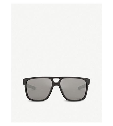 OAKLEY Crossrange Patch rectangle-frame sunglasses (Black
