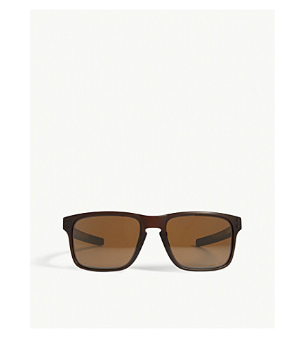 OAKLEY Holbrook Mix rectangle-frame sunglasses (Brown