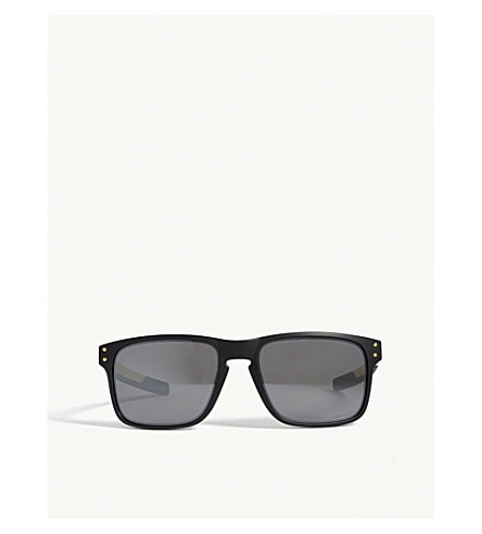 OAKLEY Holbrook mix rectangle-frame sunglasses (Black