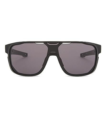 48921552c25 ... OAKLEY Crossrange Shield rectangle-frame sunglasses (Black. PreviousNext