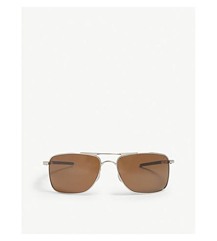 OAKLEY Gauge 8 rectangle-frame sunglasses