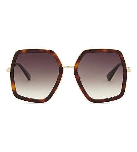 GUCCI GG0106S square-frame sunglasses