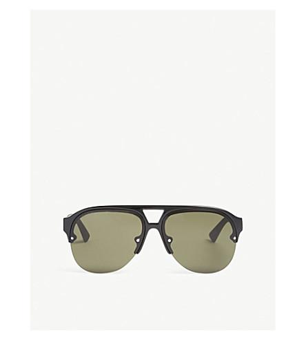 GUCCI GG0170s pilot-frame sunglasses (Black