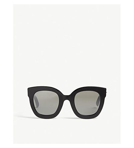 GUCCI Gg0208 oval-frame sunglasses (Black