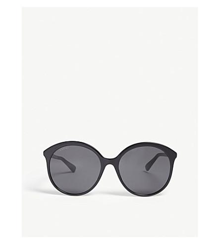 GUCCI GG0257S round sunglasses (Black