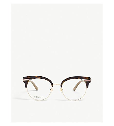 GUCCI GG0285O round glasses (Gold
