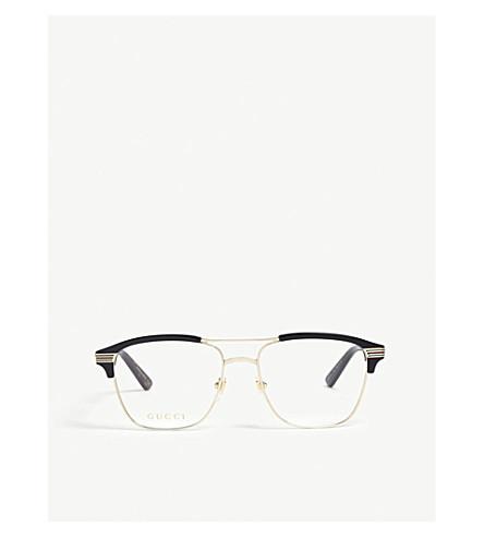 GUCCI GG0241O square optical glasses