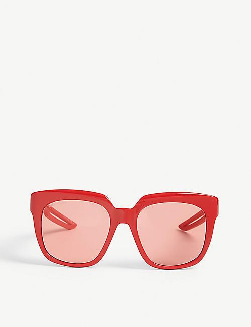 BALENCIAGA BB0025S square-frame sunglasses