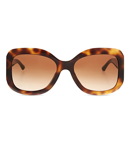 GIORGIO ARMANI Timeless Elegance sunglasses AR8002 (Havana