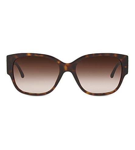 GIORGIO ARMANI Havana square sunglasses AR8014 (Dark+havana