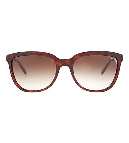 BURBERRY Round sunglasses (Black