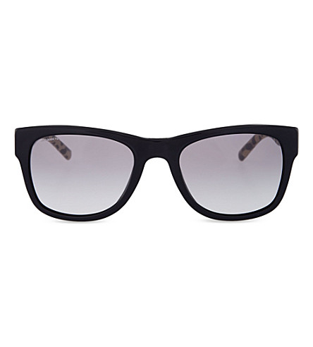 BURBERRY Animal print sunglasses (Black