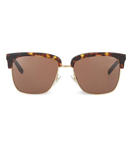 BURBERRY BE4154 Havana sunglasses (Dark+havana/gold