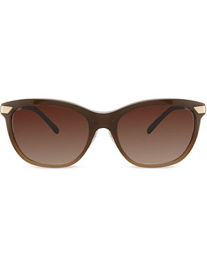 BURBERRY B4169 beige square sunglasses