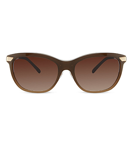 BURBERRY B4169 beige square sunglasses (Brown+gradient+beige