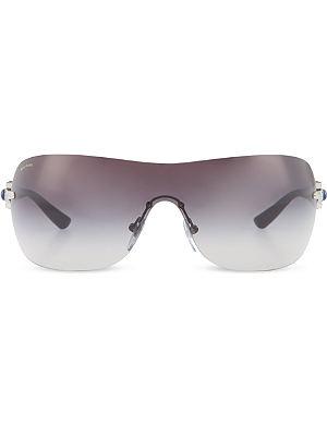BVLGARI Black cat-eye sunglasses