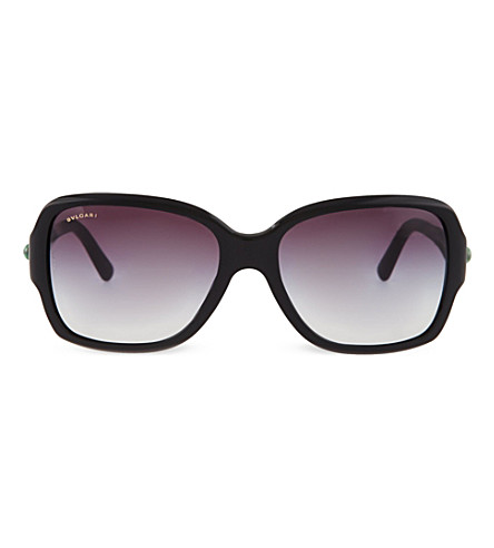 BVLGARI Oversized BV8119 sunglasses (Black