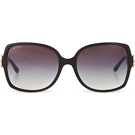 BVLGARI Square sunglasses (Black
