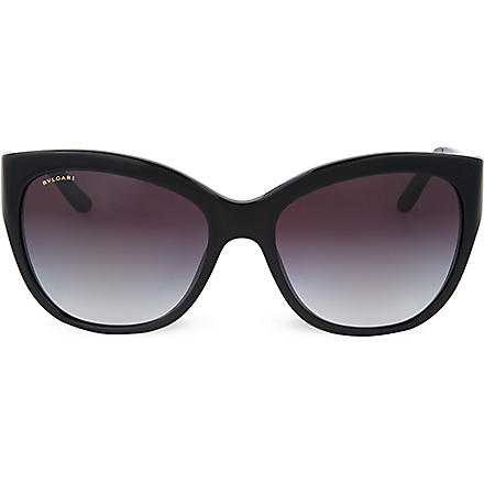 BVLGARI Black square sunglasses (Black