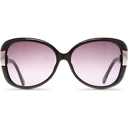 DIOR Midnight rectangle sunglasses (Black