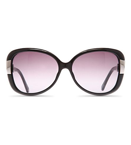 DIOR Midnight rectangle sunglasses (Black
