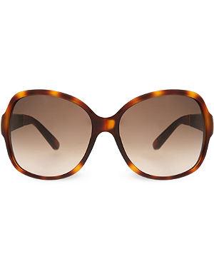 GUCCI Tortoiseshell round sunglasses