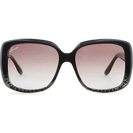 GUCCI Square frame sunglasses (Grey