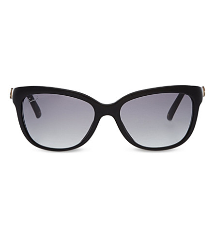 GUCCI GG3672S Bamboo square sunglasses (Black