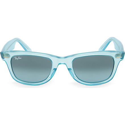 RAY-BAN Demi Gloss Ice Pop Wayfarer sunglasses (Gloss