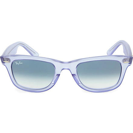 RAY-BAN Demi Gloss Ice Pop Wayfarer sunglasses (Lillac