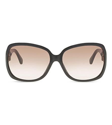 MICHAEL KORS Black square sunglasses (Black