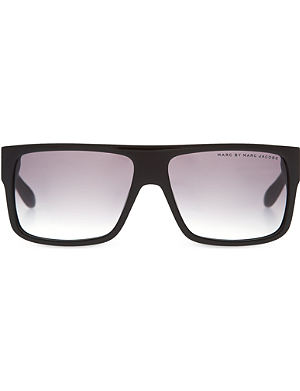 MARC JACOBS Square striped sunglasses