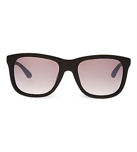 MARC JACOBS Red rectangle sunglasses (Red