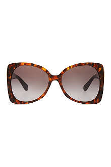 MARC JACOBS Tortoiseshell butterfly sunglasses