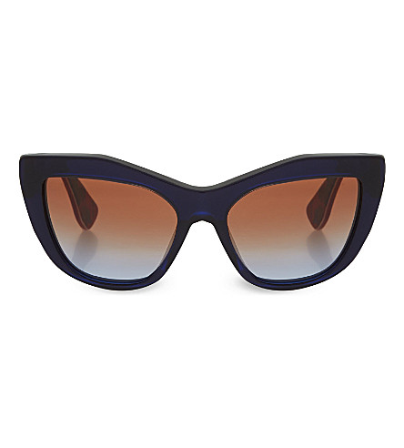 MIU MIU MU02PS Cat-eye sunglasses (Blue