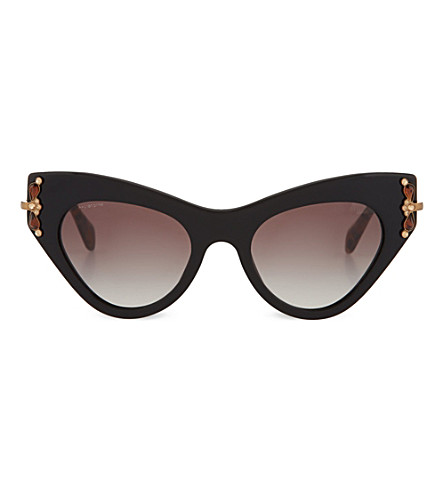 MIU MIU Black cat eye sunglasses (Black