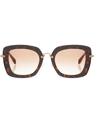 MIU MIU Havana Opal sunglasses MU070S