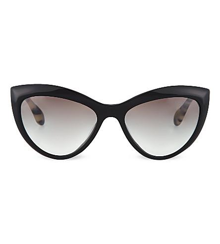 MIU MIU Cat eye sunglasses (Black