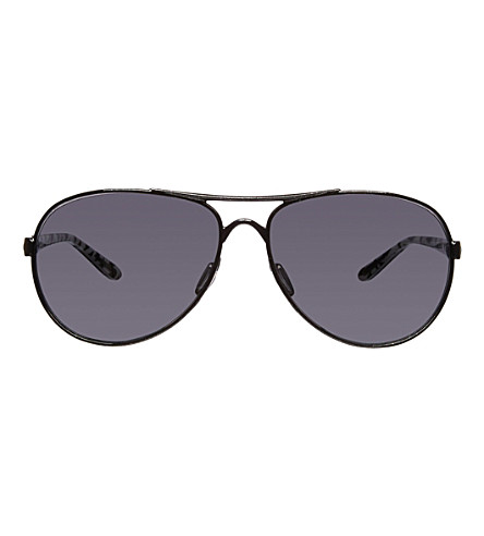 OAKLEY Metallic black sunglasses (Metallic+black