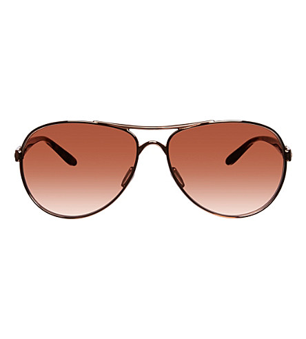 OAKLEY Feedback aviator sunglasses OO4079 (Rose+gold