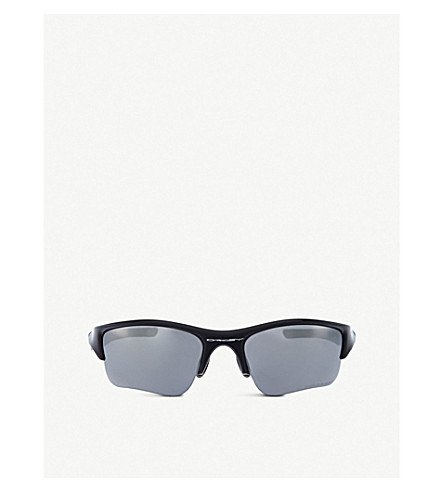 OAKLEY Irregular sunglasses (Jet+black