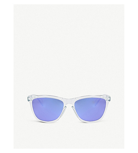 OAKLEY Frogskins® sunglasses (Polished+clear