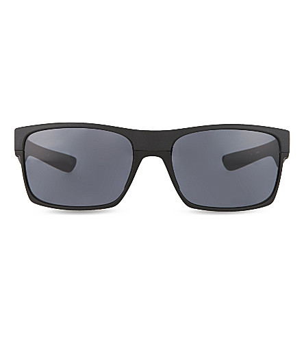 OAKLEY Steel square sunglasses (Steel