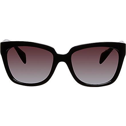 PRADA Black square sunglasses (Black